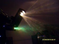 Sharnbrook Village hall - 18th Bday 2011(Lights)