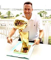 2013 NBA Championship Trophy
