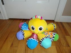 Lamaze Octotunes Sensory Development Baby Toy - $17