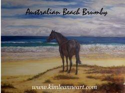 AUSTRALIAN BEACH BRUMBY