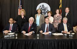 Bill Signing in Annapolis