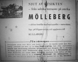 Hotell Molleberg 1959