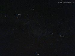 Aquila, Lyra and Cygnus