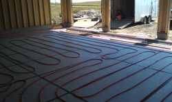 Radiant Floor Heat