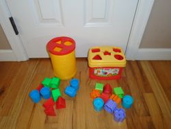 Fisher Price Brilliant Basics Baby's First Blocks - $6