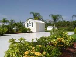 Cottages in Motorcoach resort , alva , fl