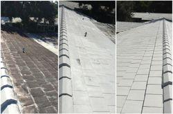 White Roof Pressure Washing