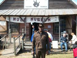 Ike Gibson at Mule Museum