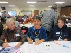 Sue Bacon, Amy Lindamood, Carol Bamberry