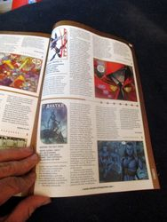 Page with My Review of Avatar: Tsu'tey?s Path in Starburst Magazine #469: Birds of Prey Collectors? Edition