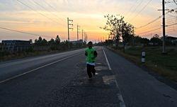 Nat's morning run