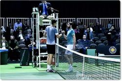 Tomas Berdych and Gilles Simon