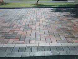 Block paved drive