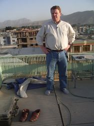 Live from the roof in Afghanistan