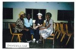Counseling Young Women in Zambia