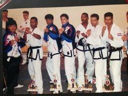 Taekwondo Team Engeland