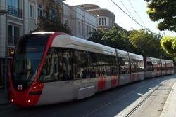 Alstom Citadis... Istanbul's new tram.
