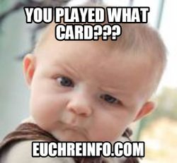 You played what card?