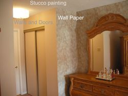 Paint and wall paper