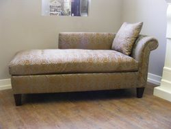 custom built chaise