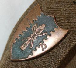 :Constabulary (from 4th Cav.) Post War: