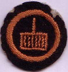 Ranger Cook Badge 1920s