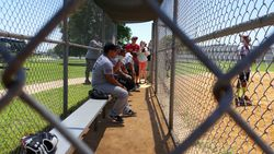 Bexar County ESD in the dugout
