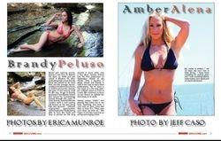 Amber Alena Bikini Magazine October 2015