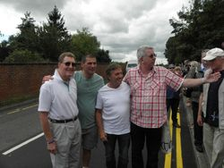 Pete Roberts, Johnny Kidd,Steve Grey, Neil Sands