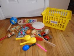 Wood Musical Instruments - $30