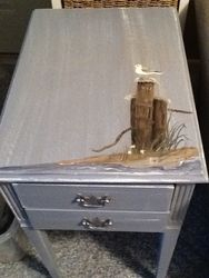 seagull side table