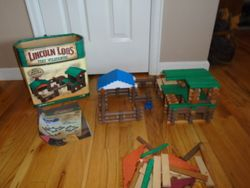 The Orihinal Lincoln Logs Fort Wilderness 206-Piece Building Set - $35