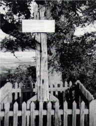 Gibbet Post. 1980s