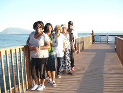 Ladies on the Pier