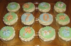 Cupcakes For The 70th
