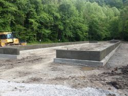 Horse Barn Foundation