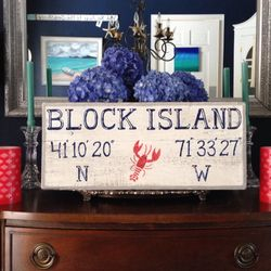Block Island w/ lobster