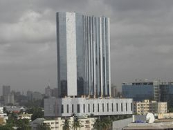 Milan Intercontinental Hotel Tower - 105m Height in Lagos - NIGERIA