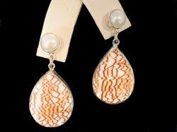 Sterling silver merle earrings