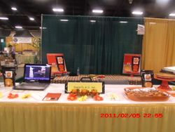 Sweets4u table at got to be NC grown festival