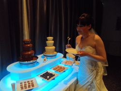 Chocolate fountain hire Humber Royal Hotel