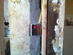 In wall wiring