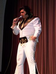 Michael O Connor tribute to Elvis