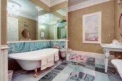 Main level Guest Bedroom 24K Gold trim bathroom