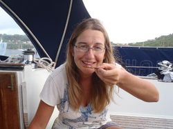 Ann's first ever oyster