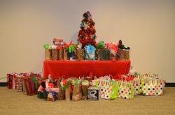 Christmas Present Set-up