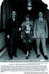 1922 Mabel with DA and Police