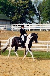 Trainer Lynn Jendrowski (back then, Lynn Laskowski)