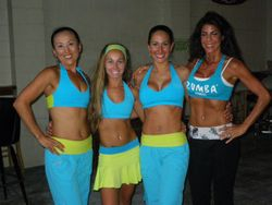 Zumba with Janette at Sandshaker Lounge on Pensacola Beach