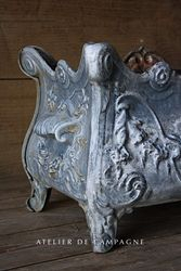 #29/259C JFRENCH ARDINIERE ENAMELED DETAIL